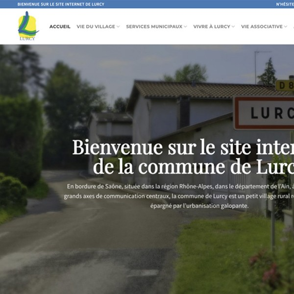création site mairie Lurcy