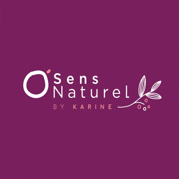 creation logo o sens naturel villefranche sur saone