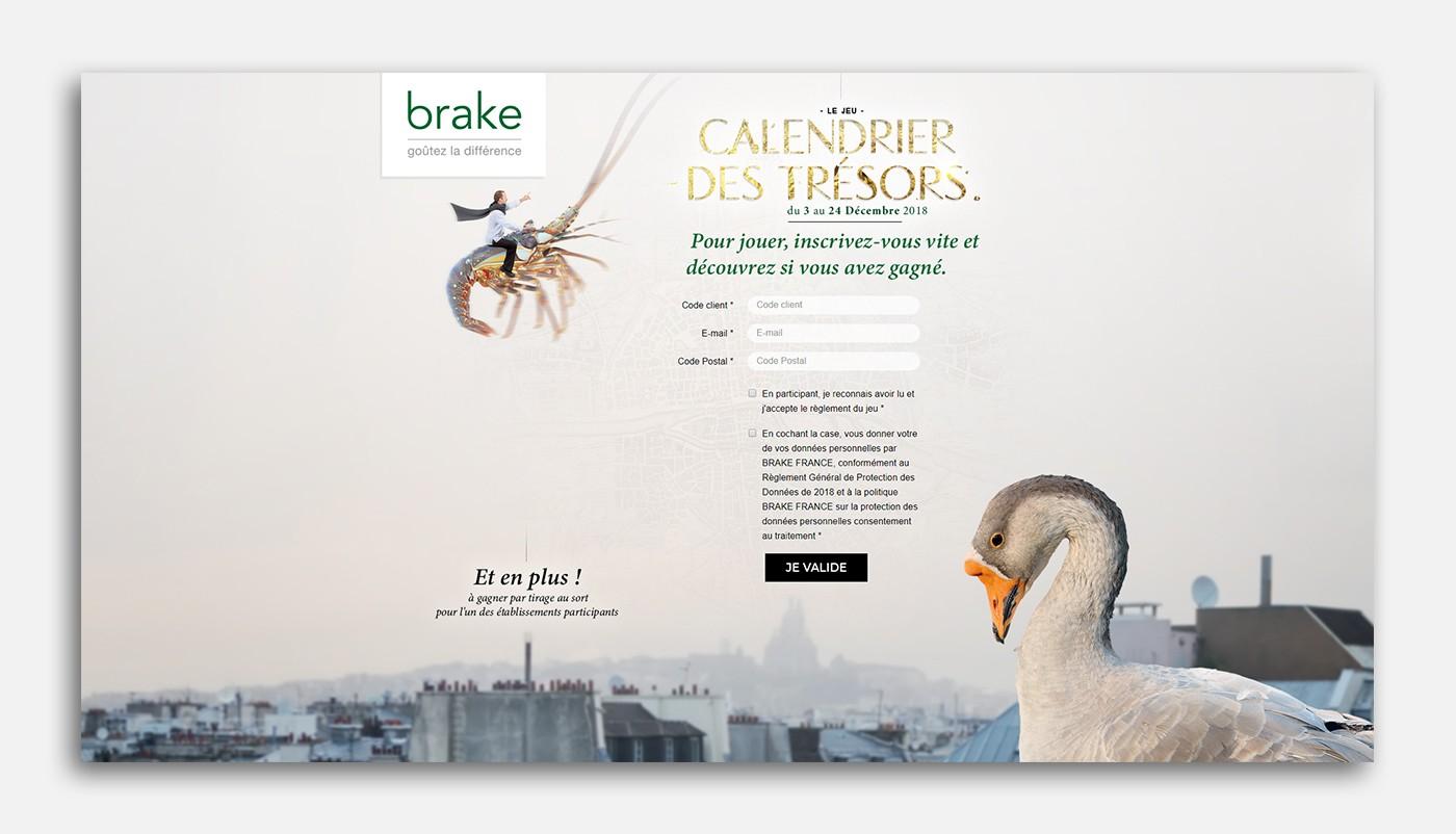 Calendrier de l'avent de Brake