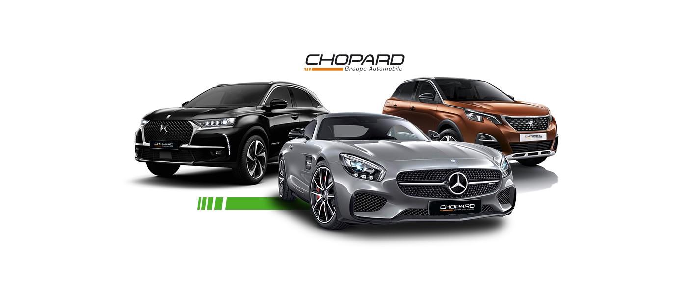Création graphique groupe Chopard