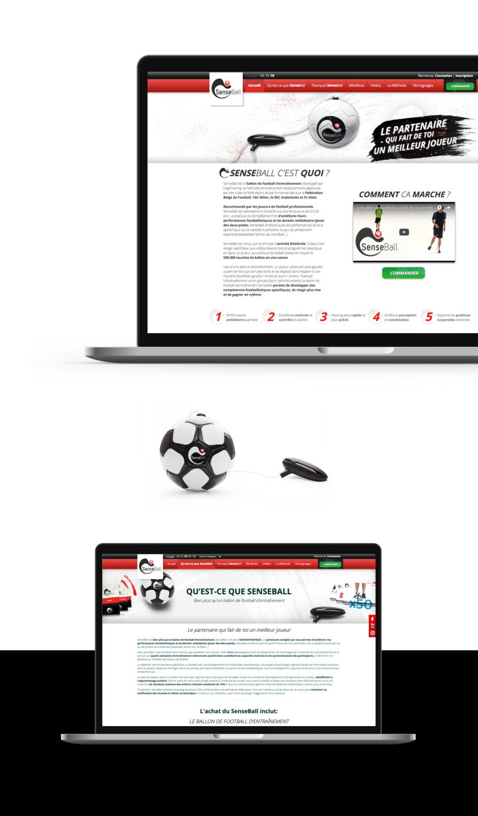 webdesign site senseball