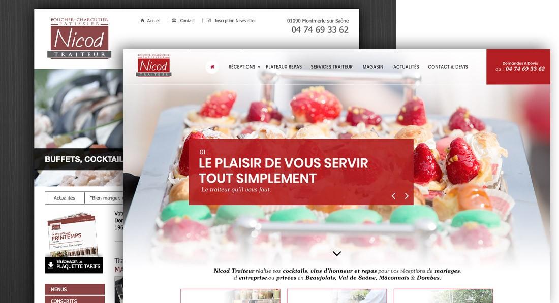 refonte graphique et fonctionnelle site internet Villefranche sur Saone